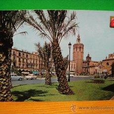 Postales: VALENCIA PLAZA DE ZARAGOZA SIN CIRCULAR SUBIRATS CASANOVAS. Lote 28961372