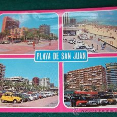 Cartes Postales: ALICANTE-PLAYA DE SAN JUAN-ESCRITA-SELLADA-CIRCULADA.. Lote 28993748