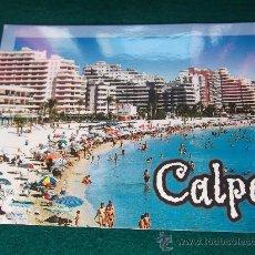 Postales: ALICANTE-CALPE-PLAYA DE LEVANTE-NUEVA.. Lote 28993940