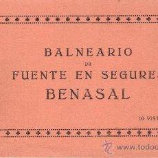 Postales: BENASAL- BALNEARIO SEGURES- BLOCK 10 POST. COMPLETO -JULIO FALCO- VER FOTOS ADICIONALES - (B-87). Lote 29135466