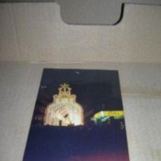 Postales: FOTOGRAFIA TAMANO TARJETA POSTAL: ILUMINACION CALLE CONVENTO JERUSALEN. VALENCIA 1994.. Lote 29173738