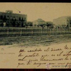 Postales: ANTIGUA POSTAL DE ALICANTE, EXPLANADA DE ESPAÑA, CIRCULADA, SIN DIVIDIR.. Lote 29206398