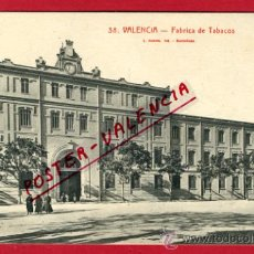 Postales: VALENCIA, FABRICA DE TABACOS, P64931. Lote 29285510