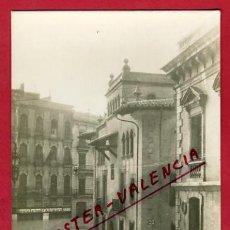 Postales: VALENCIA, RIADA,CALLES BARCAS, SALVA, COMEDIAS, COLEGIO STO. TOMAS, UNIVERSIDAD, FOTO, FGRAF, P65033. Lote 29301274