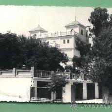 Postales: POSTAL FOTOGRÁFICA SERRA (VALENCIA). HOTEL LES FORQUES.. Lote 29304175