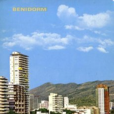 Postales: ESPAÑA. T. P. Nº 732. BENIDORM (ALICANTE). ESCRITA PERO SIN CIRCULAR. MAGNÍFICA.. Lote 29322714