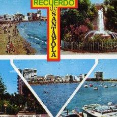 Postales: SANTA POLA 6904 ALICANTE DIVERSOS ASPECTOS COMERCIAL VIPA SIN CIRCULAR . Lote 29326179