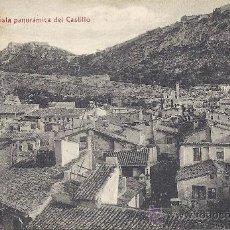 Postales: PS1897 JÁTIVA 'VISTA PANORÁMICA DEL CASTILLO'. EDICIÓN V. LÓPEZ. SIN CIRCULAR. Lote 29435446