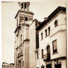 Postales: VALENCIA. TABERNES DE VALLDIGNA. FACHADA IGLESIA SAN PEDRO.. Lote 29480825