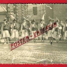 Postales: POSTAL, ALCOY , ALICANTE , FOTO FIESTAS MOROS Y CRISTIANOS 1942 ,ORIGINAL , P66824. Lote 30112184