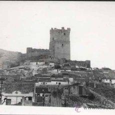 Postales: VILLENA (ALICANTE).- POSTAL FOTOGRÁFICA CASTILLO. Lote 30146983