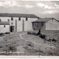 Postales: TARJETA POSTAL FORCALL, CASTELLÓN, ERMITA VIRGEN DE CONSOLACIÓN. Lote 30159942