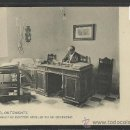 Postales: ONTENIENTE - LA SALUD - SERIE I Nº 2 - EL DIRECTOR DOCTOR AGUILAR EN SU DESPACHO - (8671). Lote 30257545