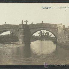 Postales: REQUENA - 12 -PUENTE DE PALANCE - FOTOGRAFICA - A. FABERT - (8675). Lote 30259477