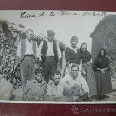 Postales: CASA DE LA SIERRA, BENICALAP, VALENCIA - POSTAL FOTOGRAFICA. Lote 30275559