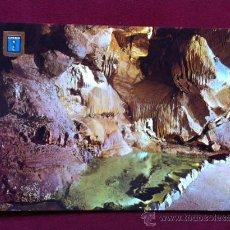 Postales: POSTAL DE VALL D'UXO -GRUTA DE SAN JOSE - LAGO DEL COCODRILO . ED ESCUDO DE ORO . AÑOS 70. Lote 30382010