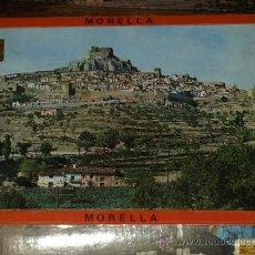 Postales: LOTE ACORDEON 10 TARJETAS POSTAL MORELLA CASTELLON. VER FOTOS. NO CIRCULADAS.. Lote 30581555