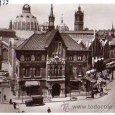 Postales: VALENCIA Nº 24 MERCADO CENTRAL DURÁ SIN CIRCULAR . Lote 30591646