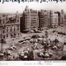 Postales: VALENCIA Nº 11 AVENIDA DE BLASCO IBÁÑEZ DURÁ SIN CIRCULAR FOTOGRÁFICA . Lote 30637167