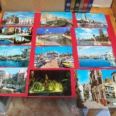 Postales: 13 POSTALES DE ALICANTE.. Lote 30709982