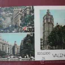 Postales: VALENCIA - RECUERDO DE VALENCIA - POSTAL FOTOGRAFICA. Lote 30713661