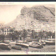 Postales: TARJETA POSTAL DE ALICANTE - PASEO DE GOMIS. Nº 3. COLECCION ASENJO SERIE 1ª. FOTO LAURENT. Lote 30981865