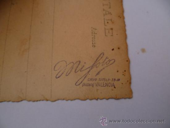 Postales: ANTIGUA POSTAL; FOTOGRAFICA SIN CIRCULAR - escrita, año 1929 - Foto 3 - 31191653