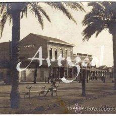 Postales: BONITA Y RARA POSTAL - TORREVIEJA (ALICANTE) - VISTA DEL CASINO - AMBIENTADA . Lote 31311677
