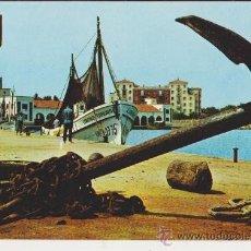 Postales: BENICARLO VISTA PARCIAL DEL PUERTO. Lote 31349186