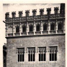Postales: VALENCIA, LONJA DE LA SEDA (SIGLO XV), DETALLE DE LA FACHADA, L.ROISIN, NO CIRCULADA. Lote 31521590