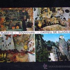Postales: POSTAL BAR PLANETA. CASTELL DE GUADALEST. FOT. HERMANOS GALIANA. ALICANTE.. Lote 31694477