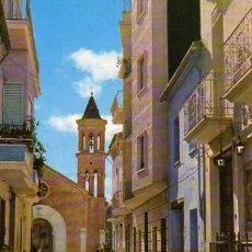 Postales: ALGEMESI VALENCIA Nº 10 POZO Y CAPILLA DE LA VIRGEN DE LA SALUD ESCRITA CIRCULADA DOS SELLOS. Lote 31762103