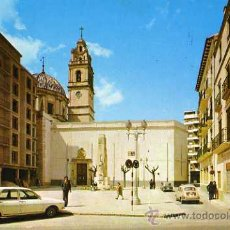 Postales: CARCAGENTE VALENCIA Nº 625 PLAZA DEL CAUDILLO POSTALES DURÁ VELASCO ESCRITA CIRCULADA SELLO. Lote 31762376