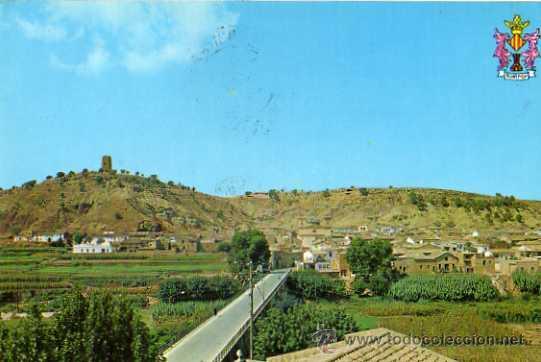 MONTROY VISTA GENERAL EXCLUSIVA JULIA SALA ESCRITA CIRCULADA SELLOS (Postales - España - Comunidad Valenciana Moderna (desde 1940))