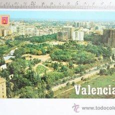 Postales: TARJETA POSTAL VALENCIA VISTA AEREA 1349 ESCUDO DE ORO VIVEROS PAGODA GENERAL ELIO LEGION ESPAÑOLA. Lote 31791249