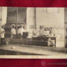 Postales: ANTIGUA POSTAL DE ALICANTE,HOTEL SIMON-LA COCINA.FOTOTIPIA CASTAÑEIRA Y ALVAREZ.. Lote 31816218