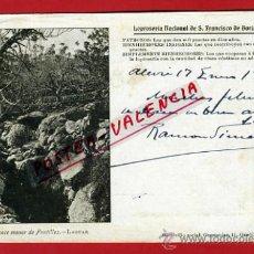 Cartes Postales: POSTAL, FONTILLES, ALICANTE, LEPROSERIA NACIONAL DE S. FRANCISCO DE BORJA PARA LEPROSOS, P69357. Lote 31845465