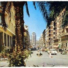 Postales: TARJETA POSTAL 1962-NUE - ALICANTE / AV. MENDEZ NUÑEZ - ARRIBAS 2003 - CALISAY MISTOL. Lote 31885653