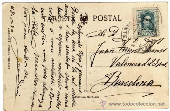 Postales: PRECIOSA POSTAL - TORREVIEJA (ALICANTE) - VISTA PARCIAL - MUY AMBIENTADA - Foto 2 - 32191500