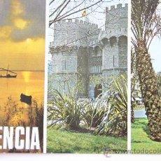 Postales: TARJETA POSTAL VALENCIA ESCUDO DE ORO NUMERO 1272 ALBUFERA TORRES DE SERRANOS MIGUELETE SIN CIRCULAR. Lote 32143470