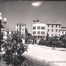 Postales: BURRIANA (CASTELLON).- PLAZA DE D. JAIME CHICHARRO. Lote 32249391
