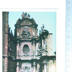 Postales: TARJETA POSTAL CATEDRAL DE VALENCIA PUERTA DE LOS HIERROS BARROCA ENTRADA MIGUELETE SIN CIRCULAR . Lote 32298270
