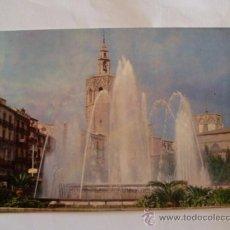Postales: POSTAL; VALENCIA - Nº25, PLAZA REINA Y MIGUELETE / ESCRITA SIN SELLO, . Lote 32349055