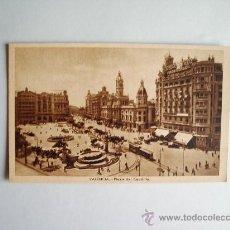 Postales: 1910C.- PLAZA DEL CAUDILLO. VALENCIA. POSTAL. Lote 32369086