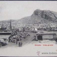 Postales: ALICANTE. VISTA GENERAL - P.Z. 10059. Lote 32500288