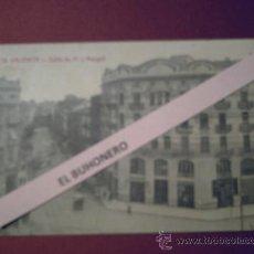 Postales: 28 VALENCIA - CALLE DE PI Y MARGALL - FOTPIA. CASTAÑEIRA Y ALVAREZ - CIRCULADA 1916. Lote 32591934