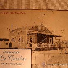 Postales: EXCELENTE TARJETA POSTAL ORIGINAL DE P.P.S.XX ALICANTE, CIRCULADA CON SELLO Y MATASELLO, AÑO 1908. Lote 32667066