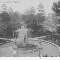 Postales: ALICANTE. PASEO DE LA REINA VICTORIA. 1703 FOTOTIPIA THOMAS BARCELONA. SIN CIRCULAR. REVERSO DIVIDID. Lote 32713520