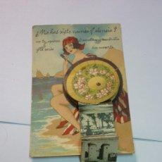 Postales: ANTIGUA POSTAL CON PEQUEÑO ACORDEÓN DE VISTAS DE VALENCIA. PRECIOSA. AÑOS 1920S. Lote 33107917