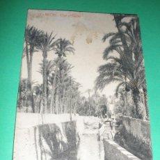 Postales: POSTAL ANTIGUA ORIGINAL DE ELCHE.CLOT D´ÉSTRES.FOTOTIPIA THOMAS - BARCELONA-.. Lote 33125942